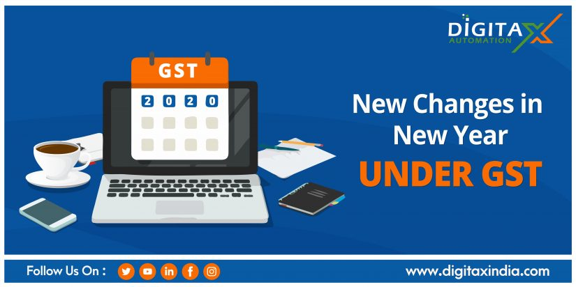 New Changes in New Year Under GST