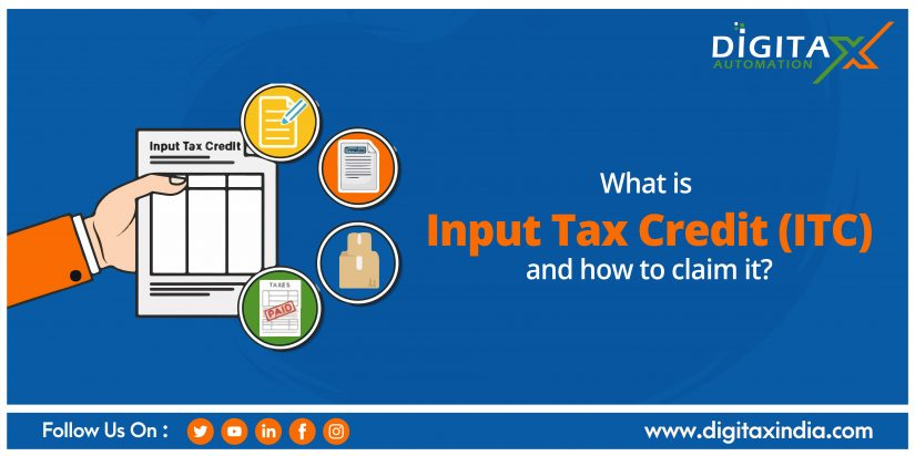 What is Input Tax Credit (ITC) and how to claim it?
