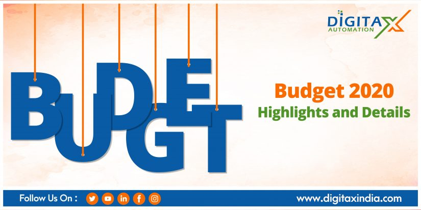 Budget 2020: Highlights and Details