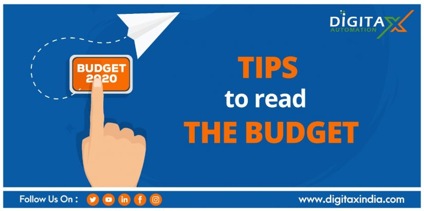 Tips to Read The Budget