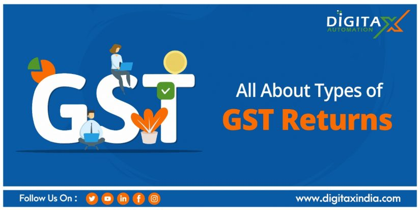 All About Types of GST Returns