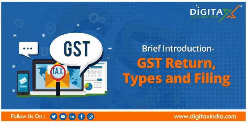 Brief Introduction: GST Return, Types and Filing